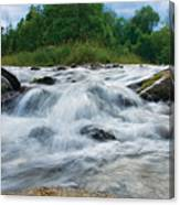 Beaver River Rapids Canvas Print