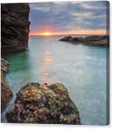 Beavertail Sunset Canvas Print