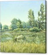 Beavor Pond Canvas Print