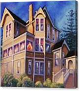 Bed And Breakfast Inn Canvas Print