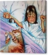 Bed Buddies Canvas Print