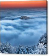 Bed Of Clouds Canvas Print