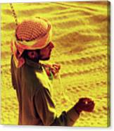 Bedouin Guide Canvas Print