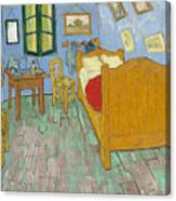 Bedroom At Arles Canvas Print