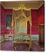 Bedroom At Holkham Hall Canvas Print