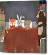 Bedtime Stories Canvas Print