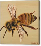 Bee Ix Delphine Canvas Print