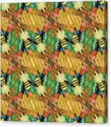 Bee Kind  Morph#2 Canvas Print