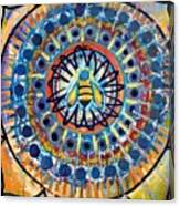 Bee Peace Canvas Print