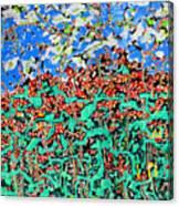 Beebalm Anastromosis  Sold Canvas Print