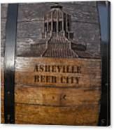 Beer Barrel City Canvas Print