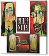 Beer Nuts Canvas Print