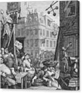 Beer Street, 1751 Canvas Print