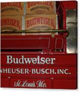 Beer Wagon Canvas Print
