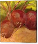 Beet It Canvas Print