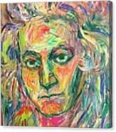 Beethoven Energy  Canvas Print