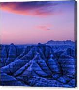 Before Sunrise, Badlands National Park Canvas Print