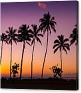 Before Sunrise In Kauai Canvas Print