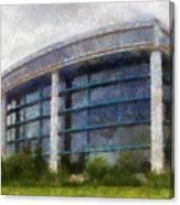 Before The Storm Chicago Shedd Aquarium Northside Pa 02 Canvas Print