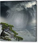 Before Thunderstorm Canvas Print