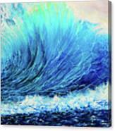Behemoth Wave Canvas Print