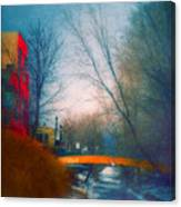 Behind Front Street Canvas Print