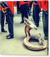 Behind Scene - Sousaphone Life Canvas Print