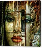 Behind The Closed Door Canvas Print