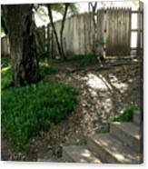 Behind The Grassy Knoll Canvas Print