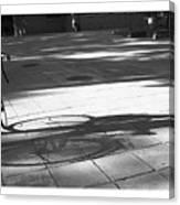 Beijing Bike Lines Canvas Print
