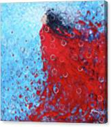 Being A Woman 6 - In Water Canvas Print