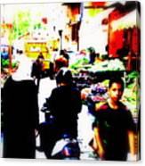 Beirut Market Funk Canvas Print