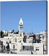 Beit Jala Christian Town Canvas Print