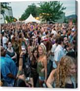 Bele Chere Festival Crowd Canvas Print
