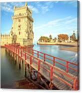Belem Tower Lisbon Canvas Print
