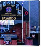Belfast Mural - Bayardo - Ireland Canvas Print