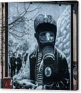 Belfast Mural - Face Mask - Ireland Canvas Print
