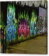 Belfast - Painted Wall - Ireland Canvas Print