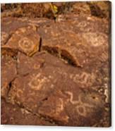 Belfast Petroglyph 6 Canvas Print
