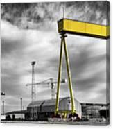 Belfast Shipyard 2 Canvas Print