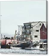 Belfast Tugs 2 Canvas Print