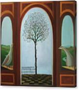 Belgian Triptyck Canvas Print
