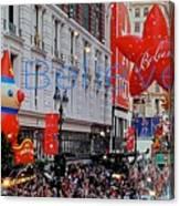 Believe Macys  Parade Canvas Print