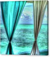 Belize Curtains #1 Canvas Print