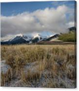 Bell Mountain Mists Canvas Print