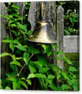 Bell On The Garden Gate  Canvas Print