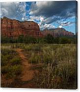 Courthouse Butte Sedona Arizona Canvas Print