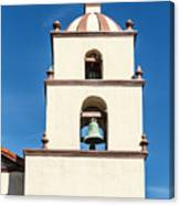 Bell Tower Mission San Buenaventura Canvas Print