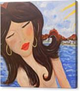 Bella En Rio Canvas Print