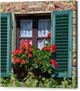 Bella Italian Window  Canvas Print